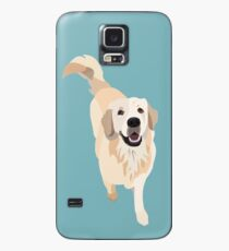 Funda/vinilo para Samsung Galaxy Golden Retriever Doggo