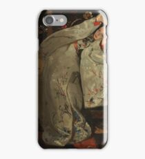 Girl in white Kimono iPhone Case/Skin