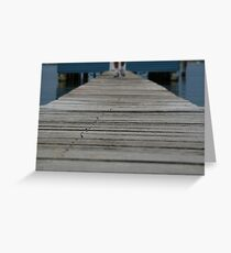 Crawley Boat Shed Greeting Card