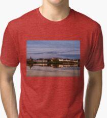 Islay: Dusk at Port Ellen Tri-blend T-Shirt
