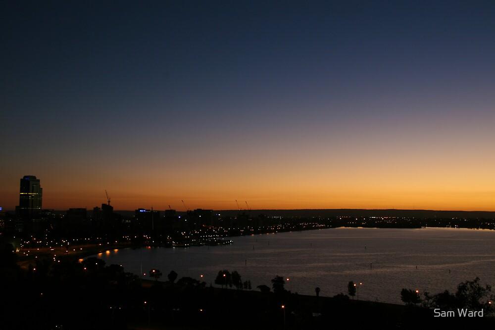 Perth Sunrise by Sam Ward