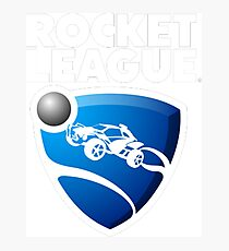 Rocket League Logo Photographic Print