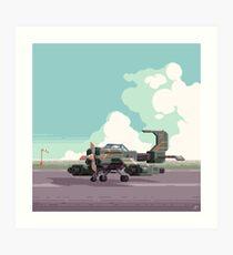 Himmel Blitzer  Art Print