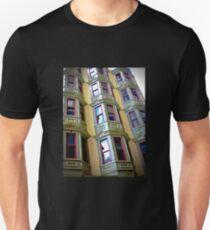 bay windows on Royal T-Shirt