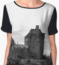 Eilean Donan castle Women's Chiffon Top