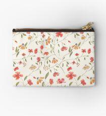 Vintage floral print Studio Pouch