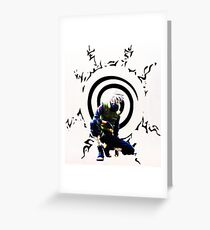 Naruto Greeting Card