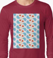 Cute blue pattern T-Shirt