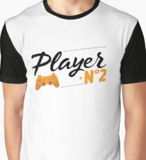 Player N°2 - Father and son Graphic T-Shirt