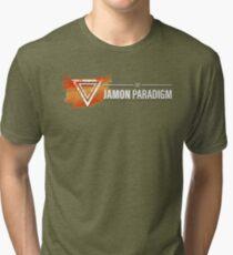 Jamon Long Logo Tri-blend T-Shirt