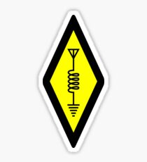 International Symbol of Amateur Radio Sticker