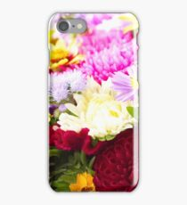 Bunch of autumn flowers iPhone Case/Skin