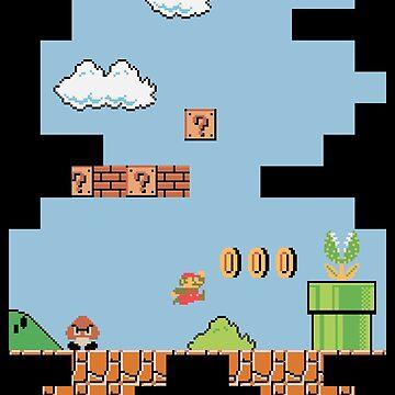 Super Mario Bros by giuliomaffei90