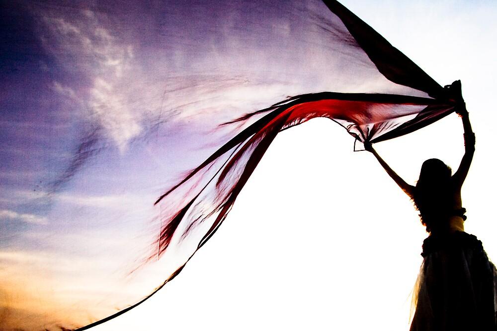 She brings the sunset by Yaniv Golan