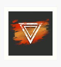Jamon Paradigm Icon Art Print