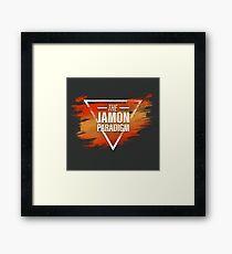 Jamon Paradigm Condensed Logo Framed Print