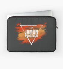 Jamon Paradigm Condensed Logo Laptop Sleeve