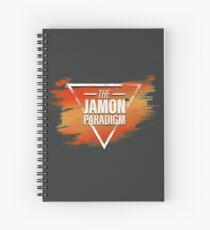 Jamon Paradigm Condensed Logo Spiral Notebook