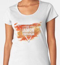 Jamon Paradigm Condensed Logo Premium Scoop T-Shirt