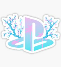 Playstation Cherry Tree Sticker