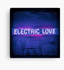 Electric Love Canvas Print