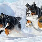 Dashing Through The Snow by bydonna