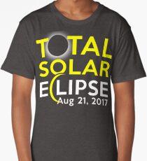 Total Solar Eclipse August 21 2017 Shirt Long T-Shirt