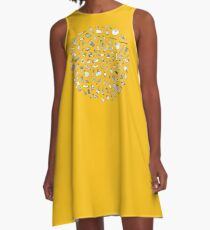 Vegetables - yellow - A-Line Dress