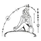 Geometric Virgo by mrf2thed
