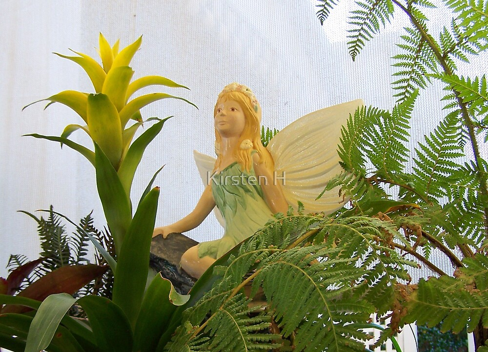 Fairies in the Garden by Kirsten H