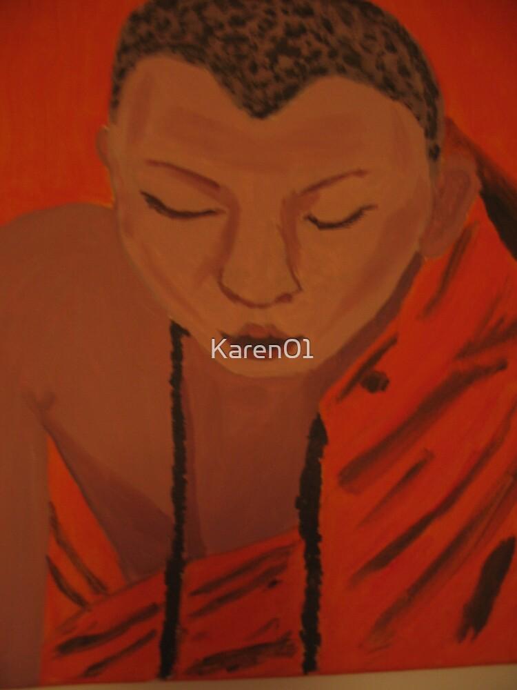 Monk's serenity by Karen01