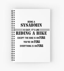 Being a SysAdmin Spiral Notebook
