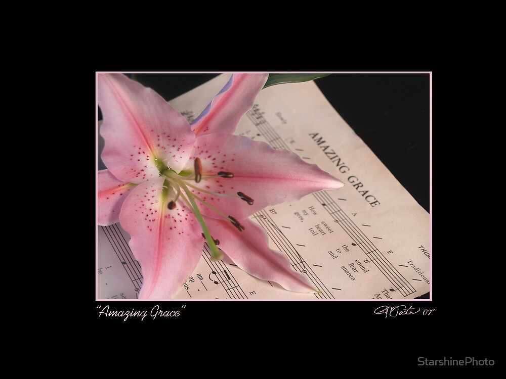 Amazing Grace - Lily by StarshinePhoto