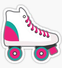 Retro Roller Skate Sticker