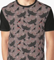 Forest bird flock Graphic T-Shirt
