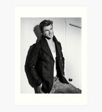 Chris Hemsworth Art Print