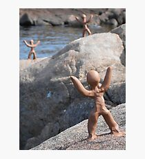 Clay People by Loch Maree Photographic Print