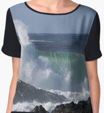 Pounding Surf Women's Chiffon Top