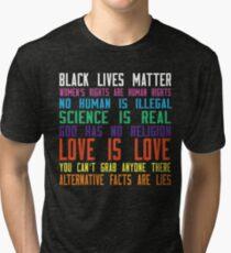 Black lives matter t-shirt Tri-blend T-Shirt