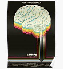 Inception - Alternate Retro Movie Poster Poster