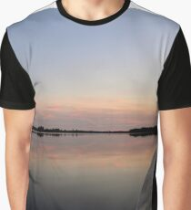 Boating into the Sunset Graphic T-Shirt