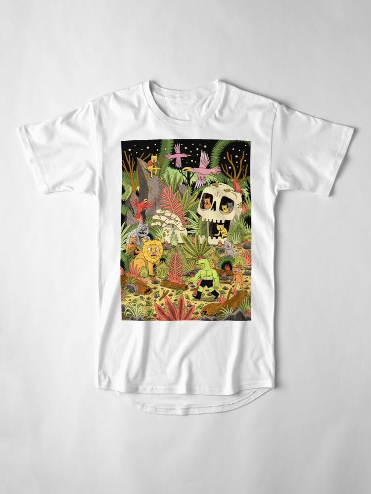 Alternate view of The Jungle Long T-Shirt