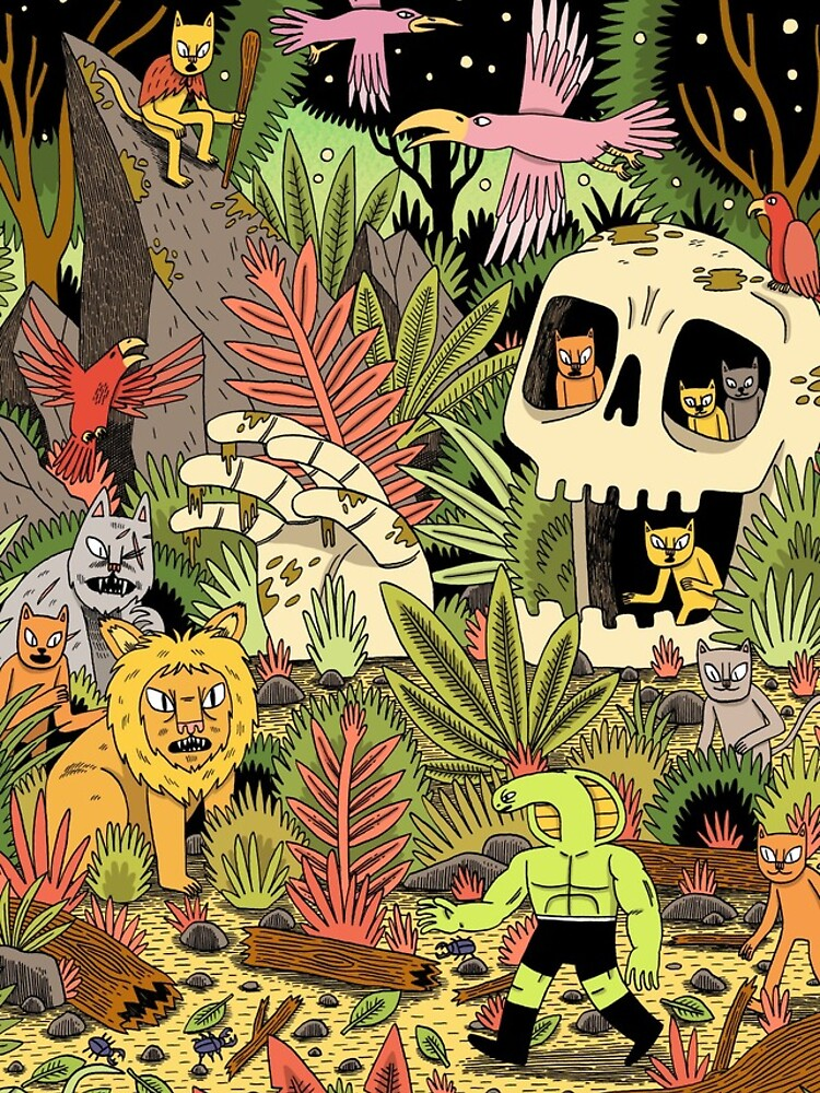 The Jungle by jackteagle