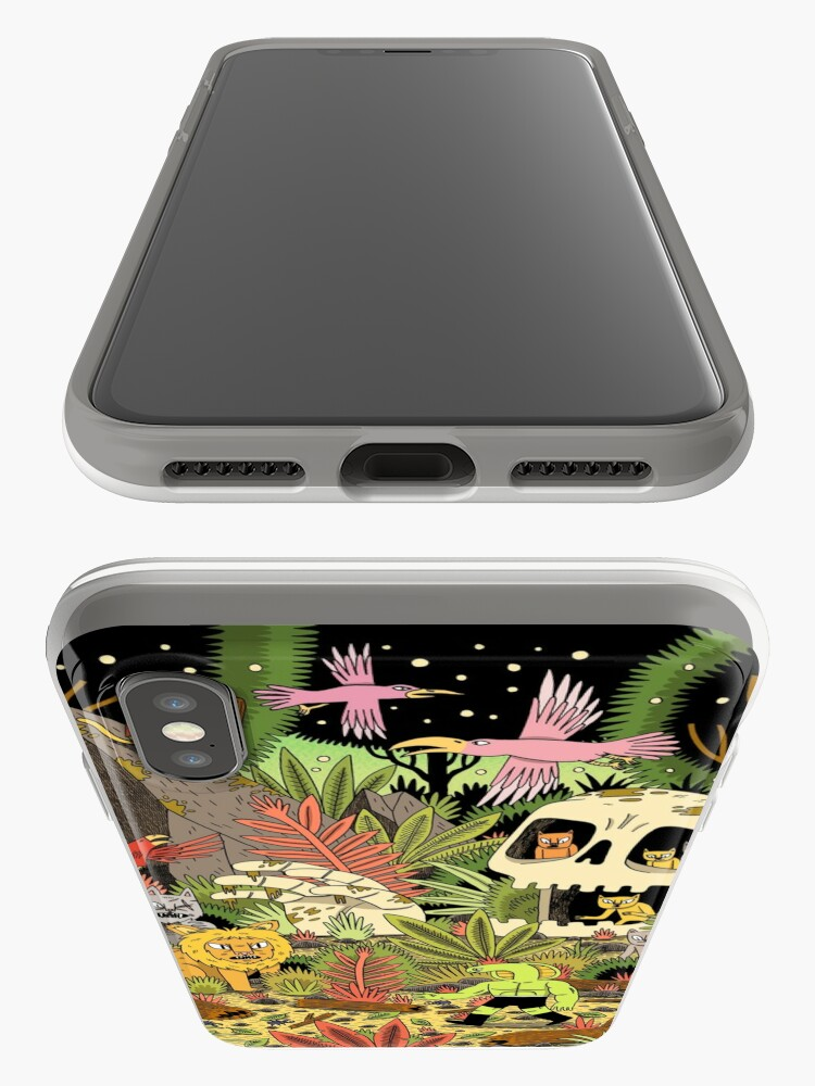 Alternate view of The Jungle iPhone Case & Cover