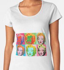 Andy Warhol Monroe Frauen Premium T-Shirts