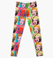 Andy Warhol Monroe Leggings