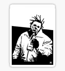 old dirty myers Sticker