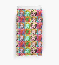 Andy Warhol Monroe Duvet Cover