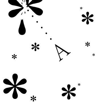 Asterisks (black) by Endovert