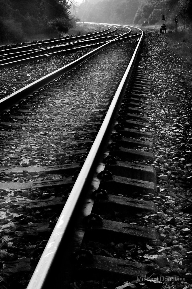 bundanoon crossing by Michael Douglass